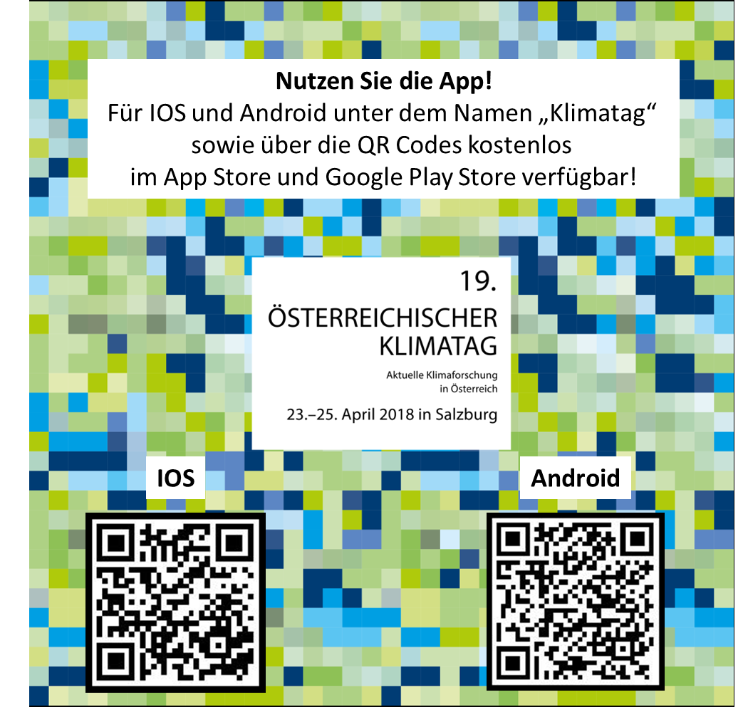 Screenshot der Klimatag-App